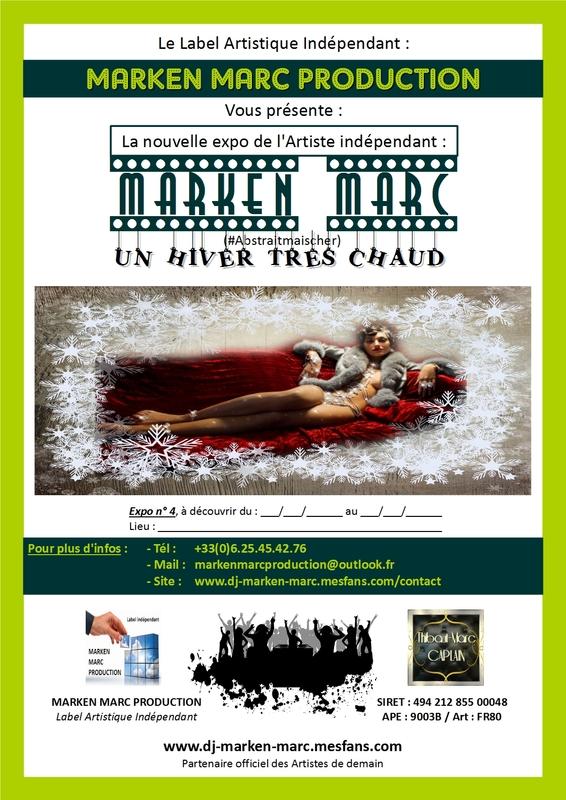 Book Photographe MARKEN MARC PRODUCTION UN HIVER TRÈS CHAUD