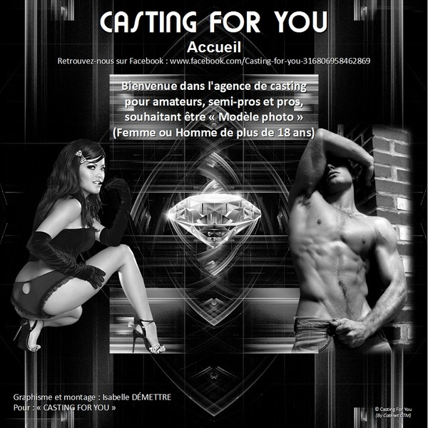 Book Agence : CASTING FOR YOU