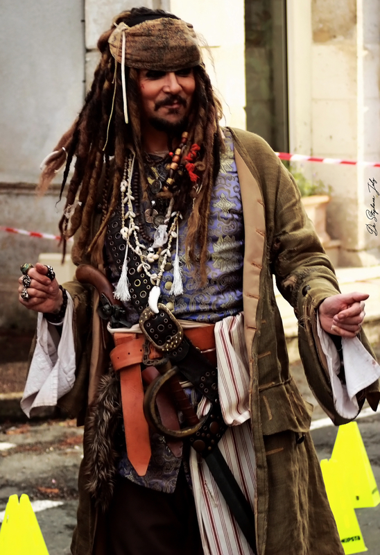 Johnny Steff, Jack Sparrow double