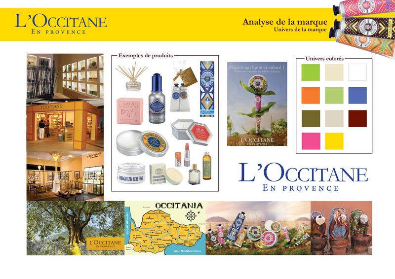 stand pour edition limit l 39 occitane st phanie drapron. Black Bedroom Furniture Sets. Home Design Ideas