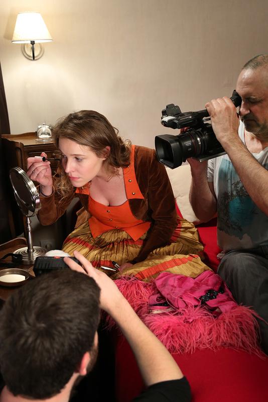 Book Modèle fanny-modele En tournage II