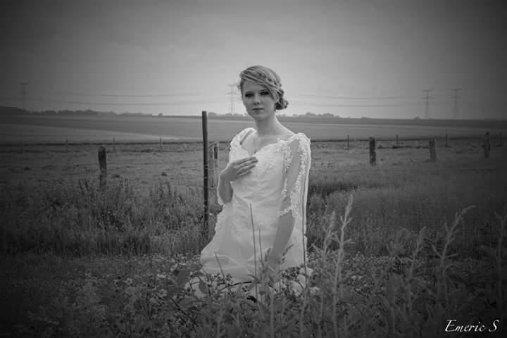 Robe de mariee dans le 76